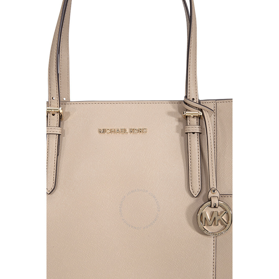 3081c8fbbfae Michael Kors Jet Set Travel Large Leather Tote- Truffle - Michael ...