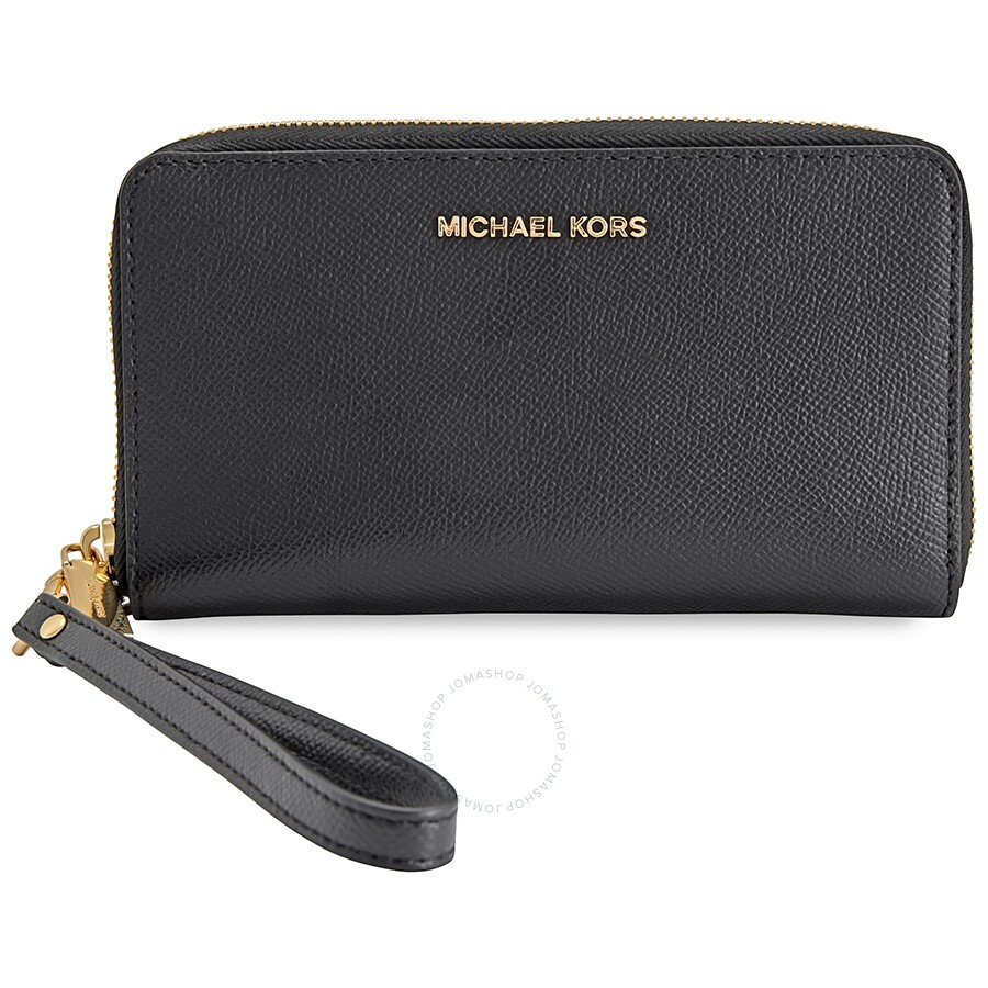 michael kors jet set travel large smartphone wristlet. Black Bedroom Furniture Sets. Home Design Ideas