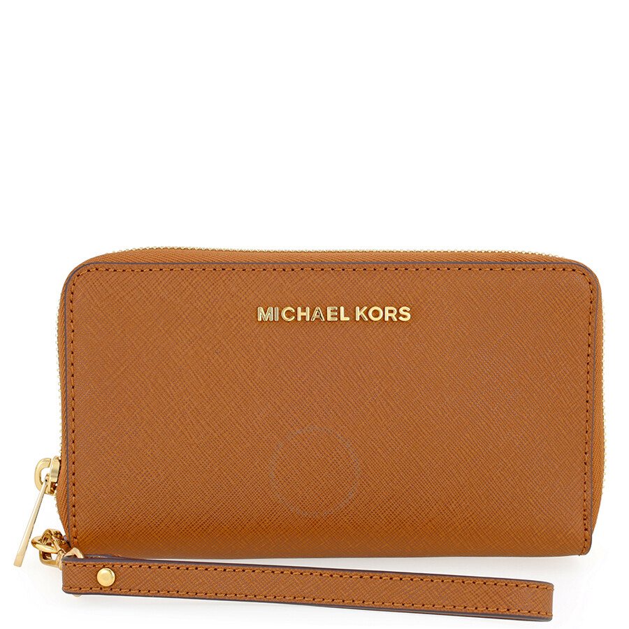 Michael Kors Jet Set Travel Large Smartphone Wristlet - Luggage Item No.  32H4GTVE9L-230 b790b4f74