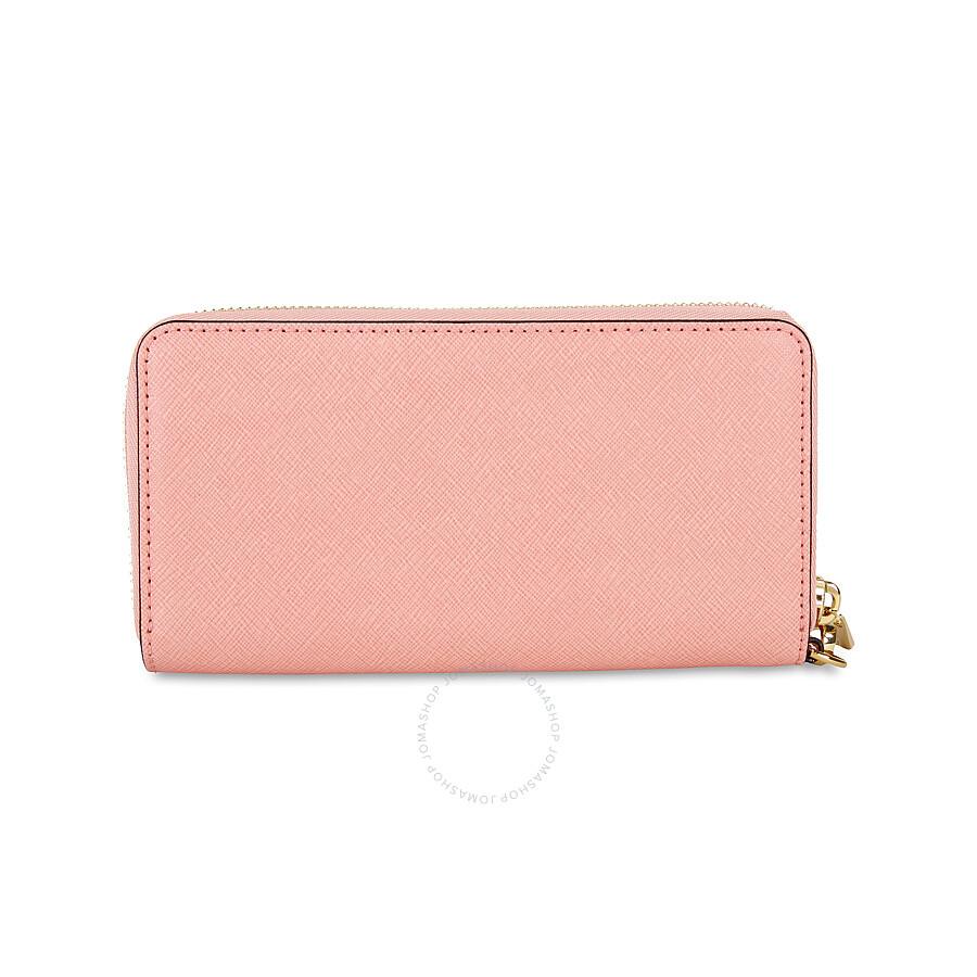 4fcccfb57c3a Michael Kors Jet Set Travel Large Smartphone Wristlet - Pale Pink ...