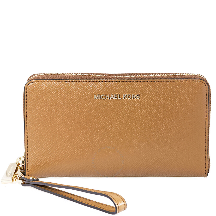 d27cd15186397d Michael Kors Jet Set Travel Large Smartphone Wristlet- Acron Item No.  32H4GTVE9L-203