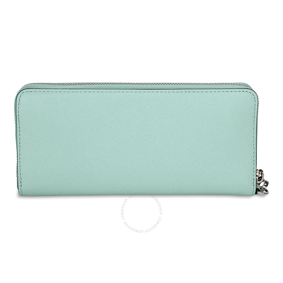 26fc0f4a09e683 ... Michael Kors Jet Set Travel Leather Continental Wallet - Celadon ...