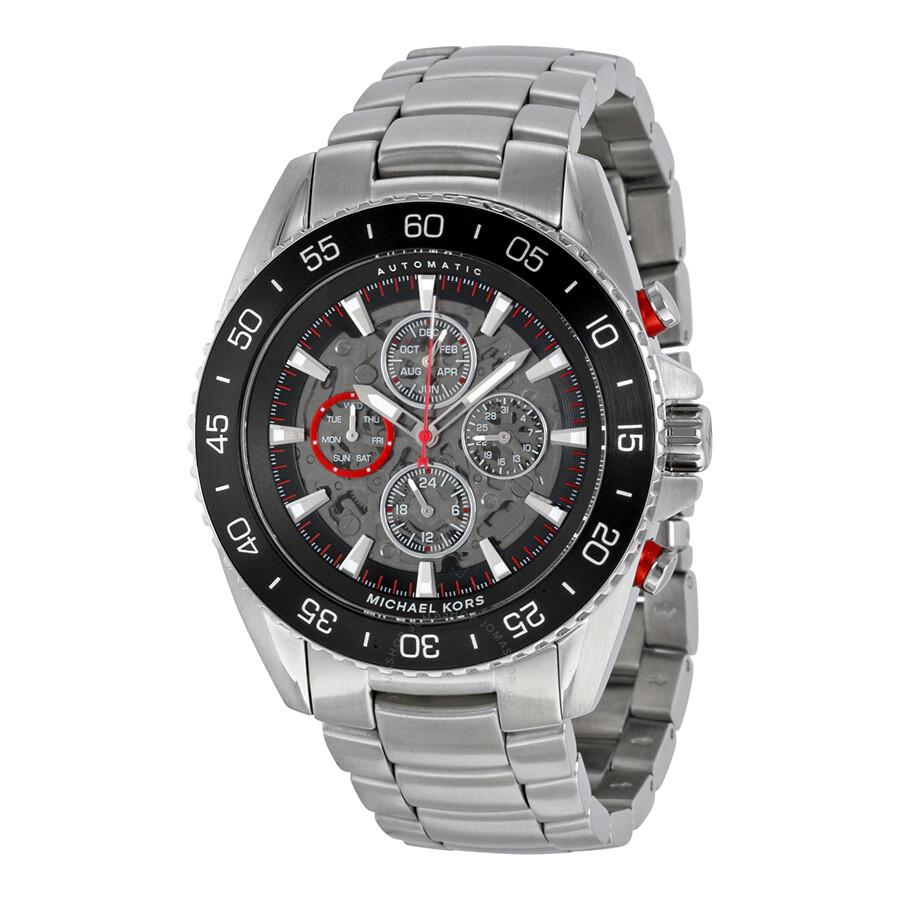 Michael Kors Jetmaster Automatic Men's Watch MK9011