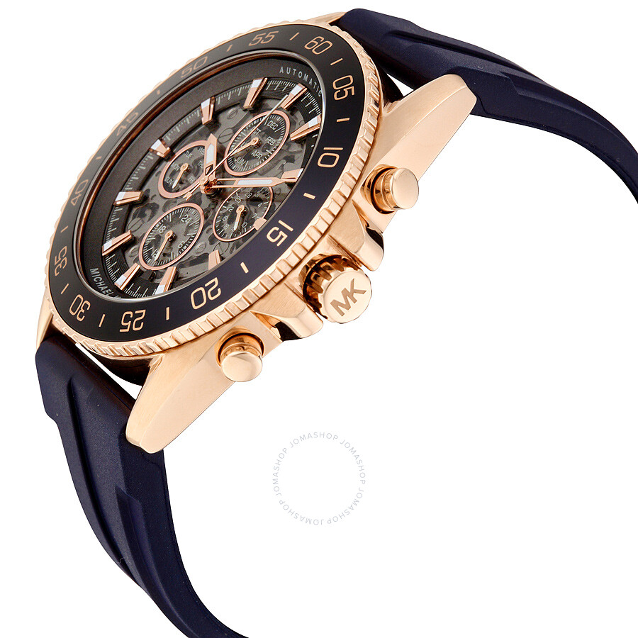 216549810 ... Michael Kors Jetmaster Skeleton Dial Multifunction Men's Watch MK9025  ...