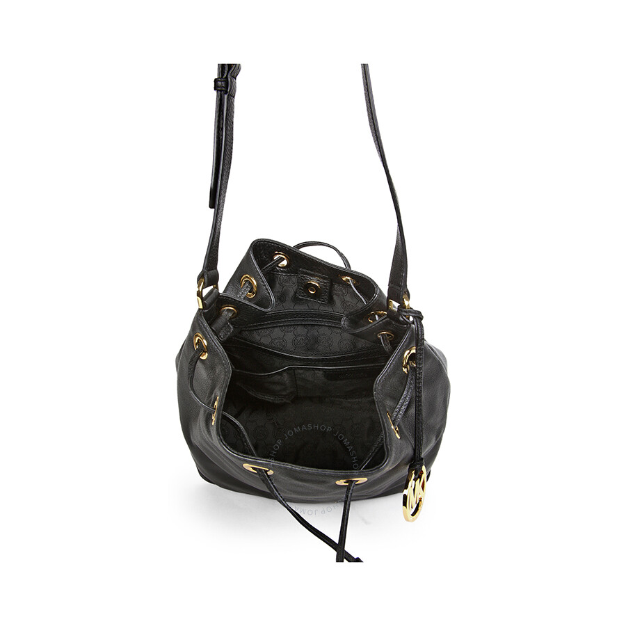 b069cff5cd8b Michael Kors Jules Large Shoulder Bag - Black - Michael Kors ...