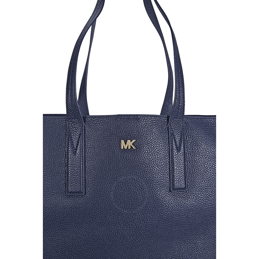 da292a8a7e0d Michael Kors Junie Large Pebbled Leather Tote - Admiral - Michael ...