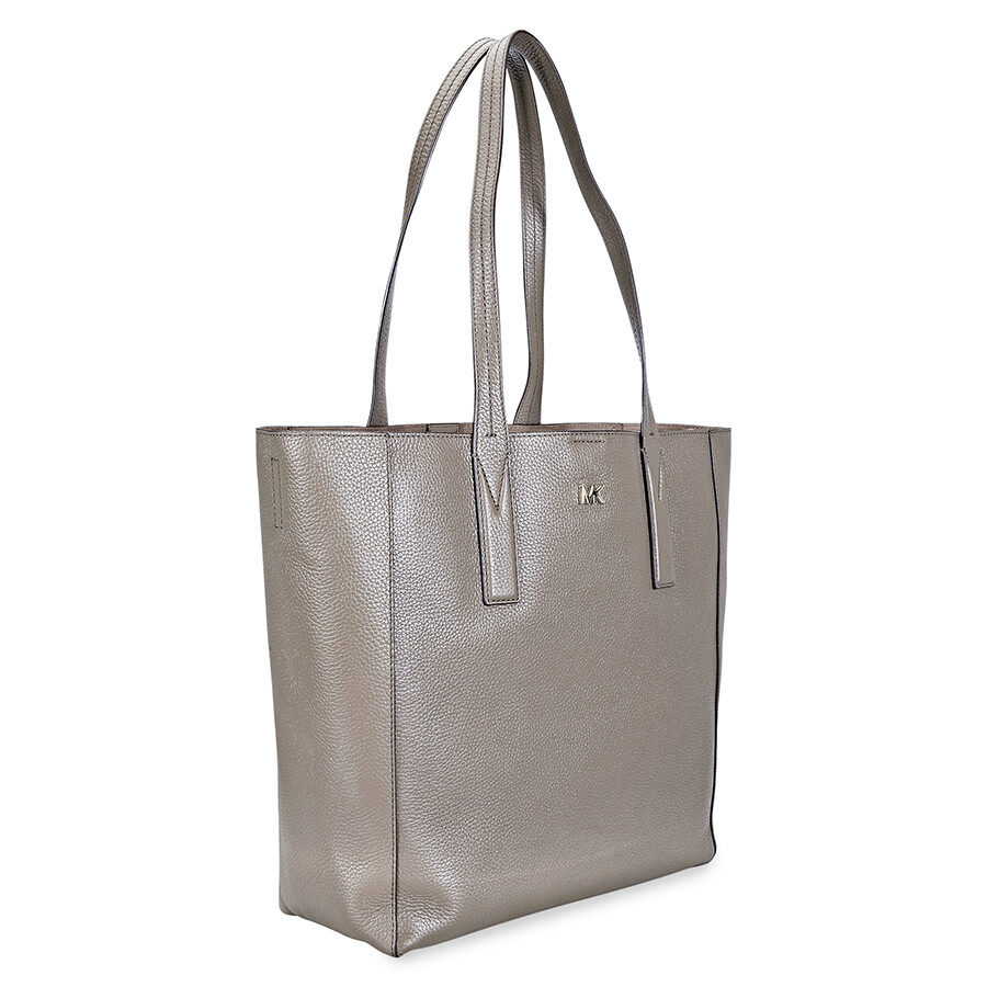 9e4f00c4c5a3 Michael Kors Junie Large Pebbled Leather Tote- Mushroom Item No.  30T8TX5T3L-250