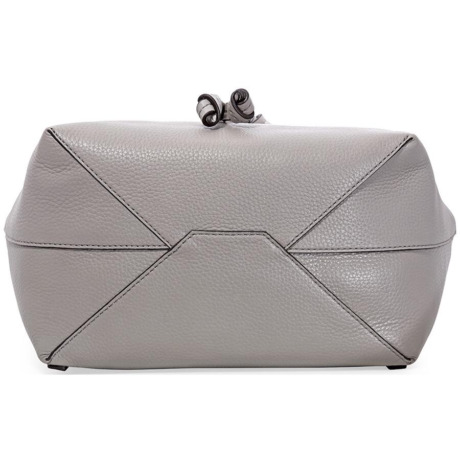 0f27f01808f4 Michael Kors Junie Medium Pebbled Leather Backpack- Pearl Grey ...