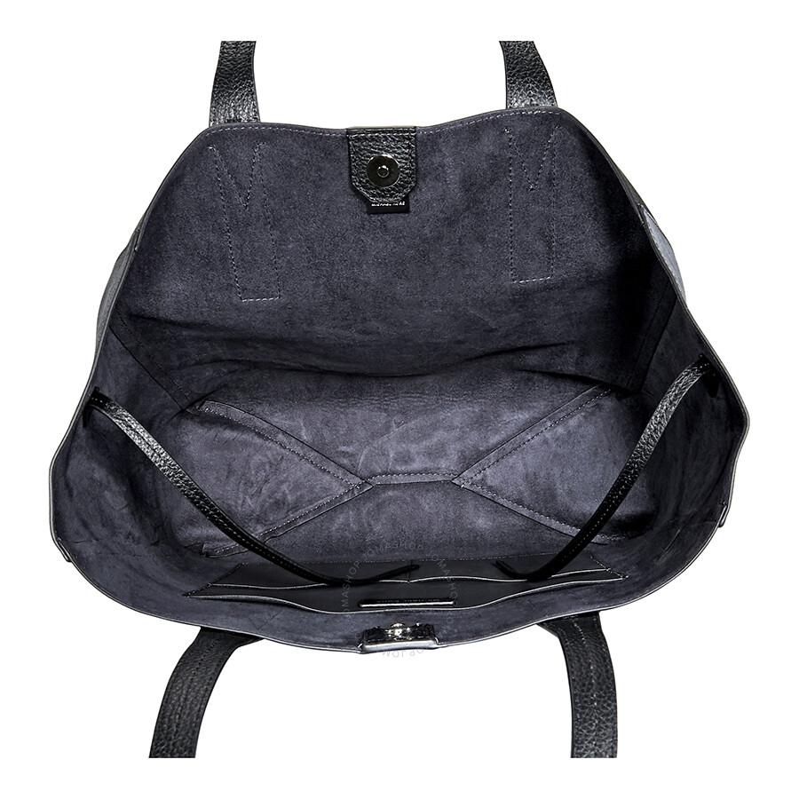 55212e3d3c8a Michael Kors Junie Pebbled Leather Tote- Black - Michael Kors ...