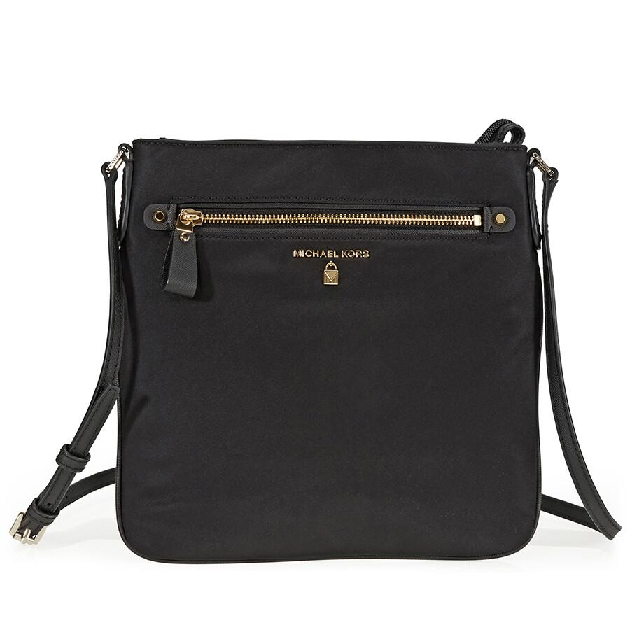 9792ca7667f4 Michael Kors Kelsey Large Crossbody Bag - Black Item No. 32F7GO2C3C-001
