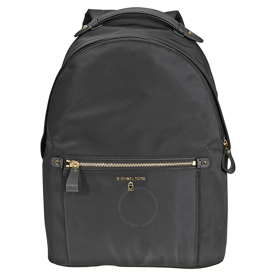 4642d0488d68 Michael Kors Kelsey Large Nylon Backpack- Black Item No. 30F7GO2B7C-001