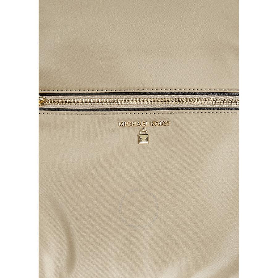 9348c1dafebc Michael Kors Kelsey Large Nylon Backpack- Truffle - Michael Kors ...