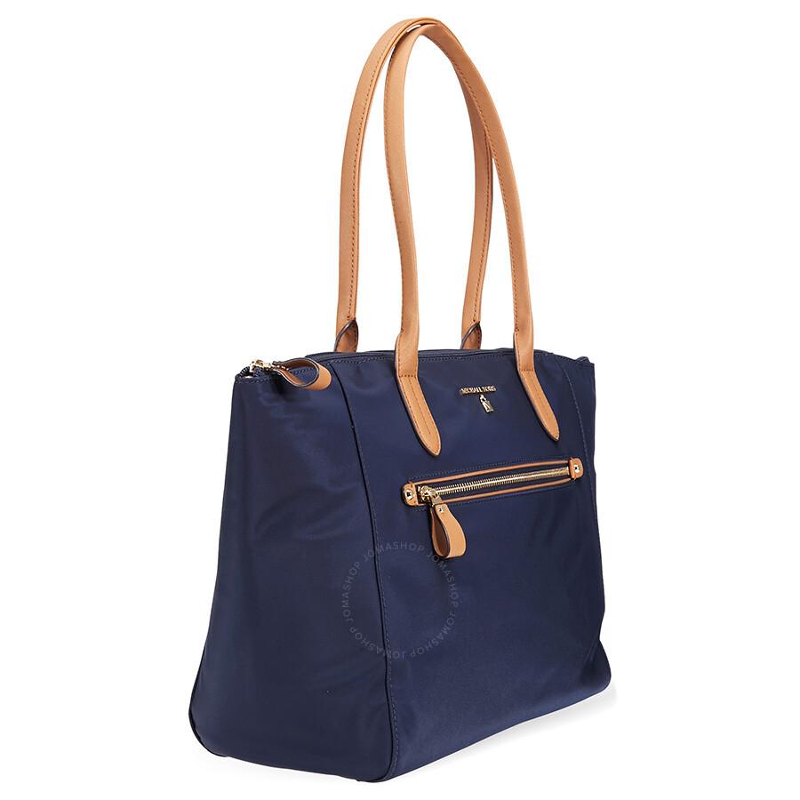 Michael Kors Kelsey Large Nylon Tote Admiral Gold