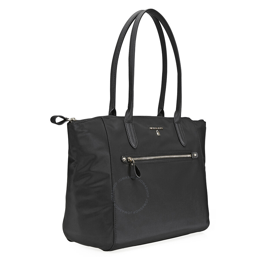 e517a122cd6e8f Michael Kors Kelsey Large Nylon Tote- Black - Michael Kors Handbags ...