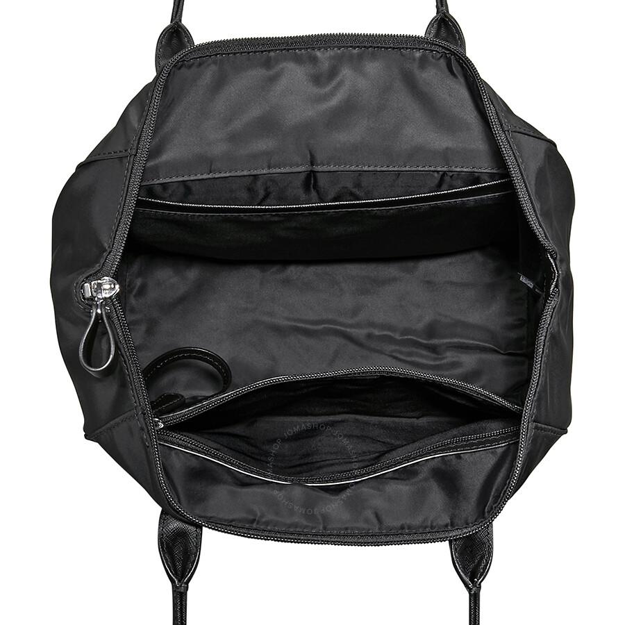 Michael Kors Kelsey Medium Nylon Tote- Black - Michael Kors Handbags ... 22c055335d2a7