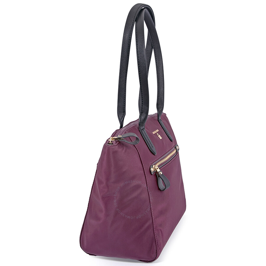55ece14a9d9036 Michael Kors Kelsey Medium Tote- Plum - Michael Kors Handbags ...