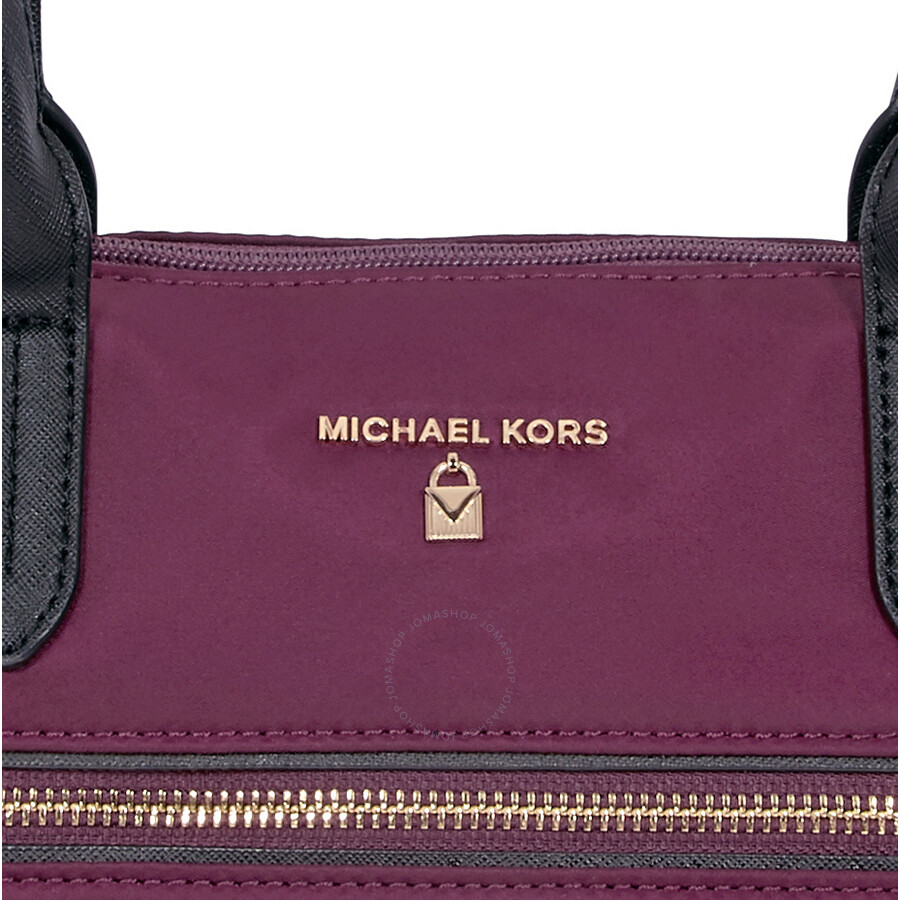 ff122a7f620c Michael Kors Kelsey Medium Tote- Plum - Michael Kors Handbags ...