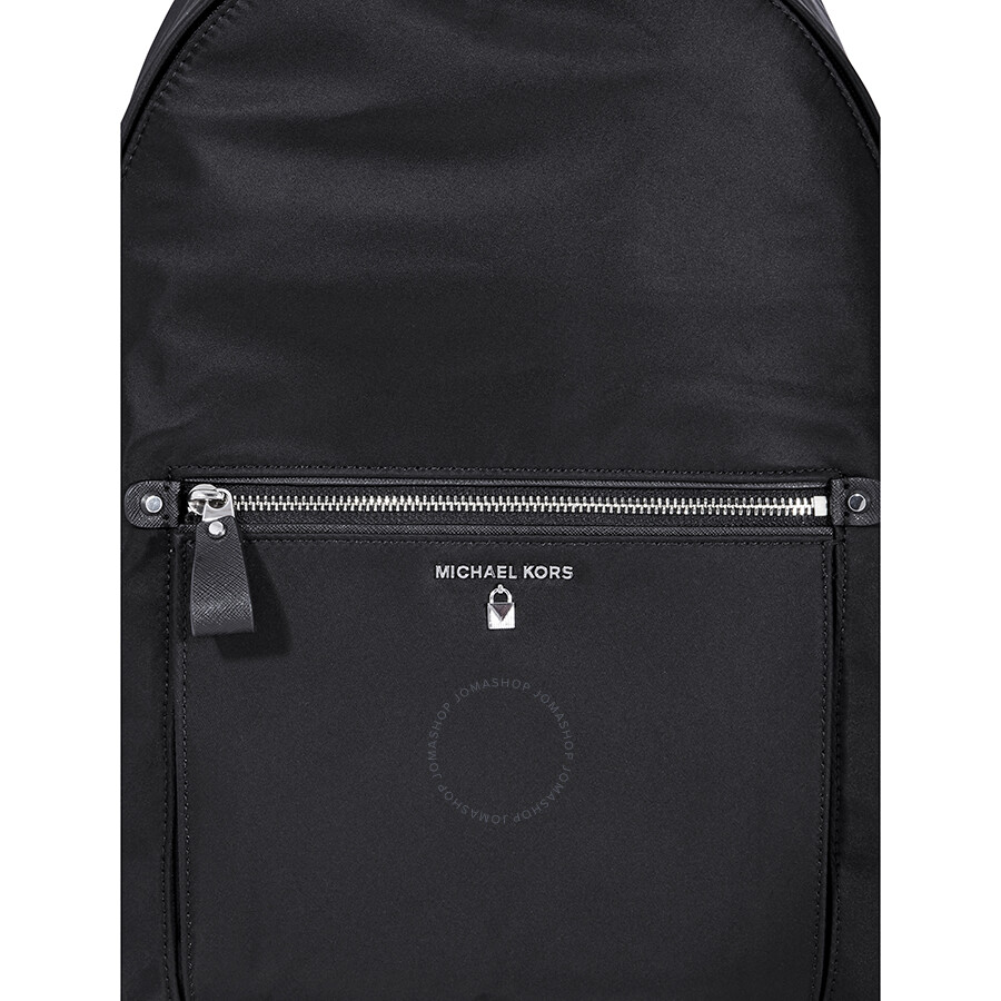 303477cdcf53 Michael Kors Kelsey Nylon Backpack- Black - Michael Kors Handbags ...