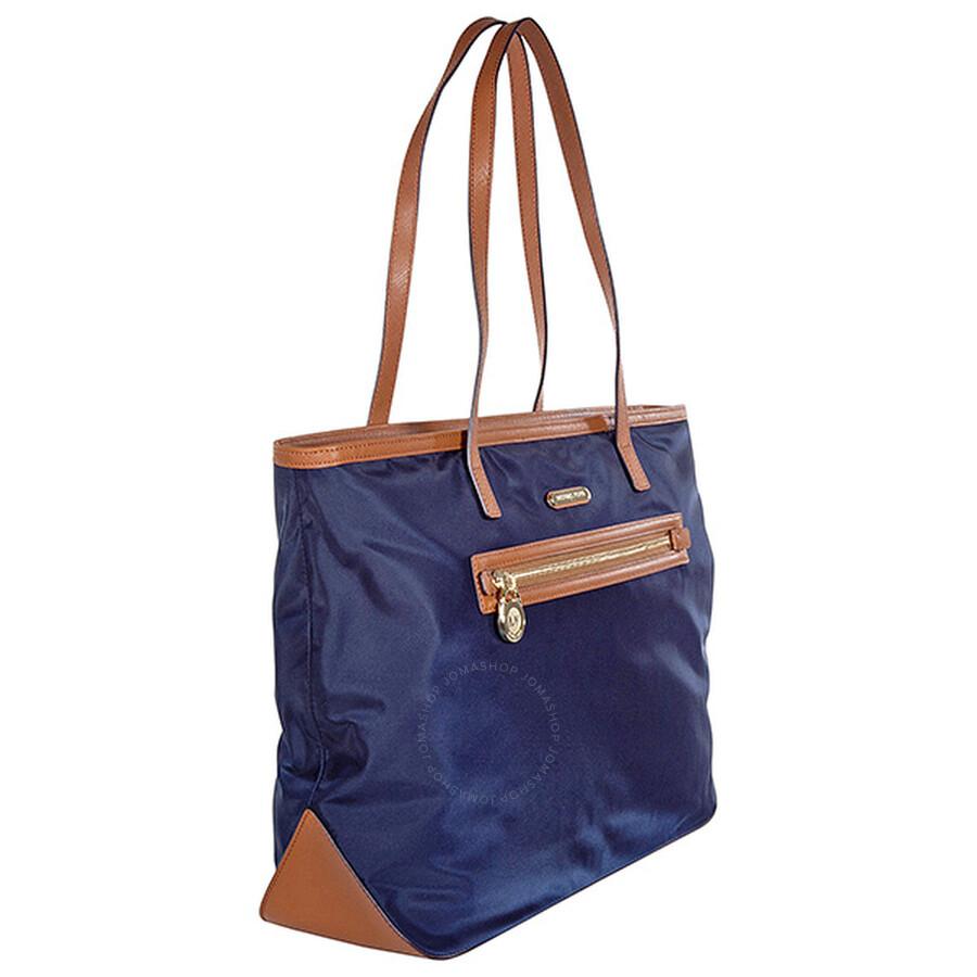 d4aa71873261 Michael Kors Kempton Large East West Tote Handbag in Navy - Blue ...