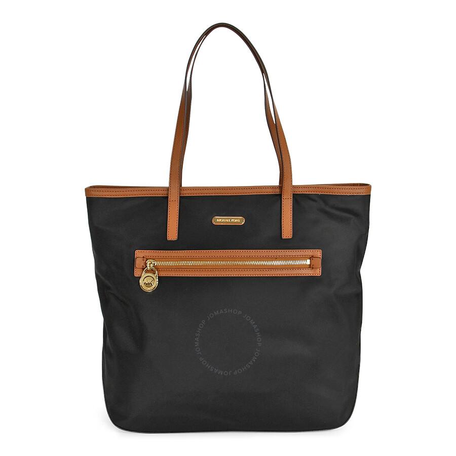 aceedd43940e48 Michael Kors Kempton Large North South Tote Handbag in Black Item No.  30T2GKPT3C-001