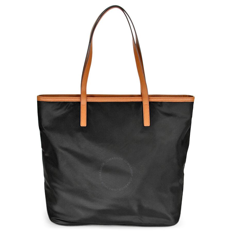 34faf9c8b1503c Michael Kors Kempton Large North South Tote Handbag in Black Item No.  30T2GKPT3C-001