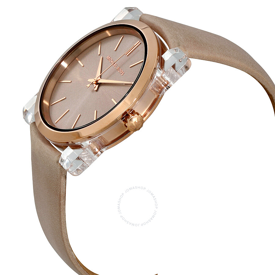 michael kors kempton rose gold tone dial ladies watch mk2486 michael kors watches jomashop. Black Bedroom Furniture Sets. Home Design Ideas