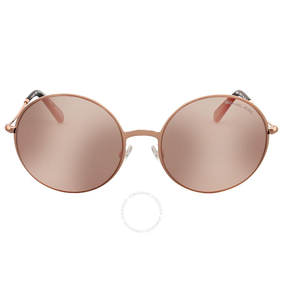 a5bd4cae497 Michael Kors Kendall II Rose Gold Flash Sunglasses Item No. MK5017-1026R1-55