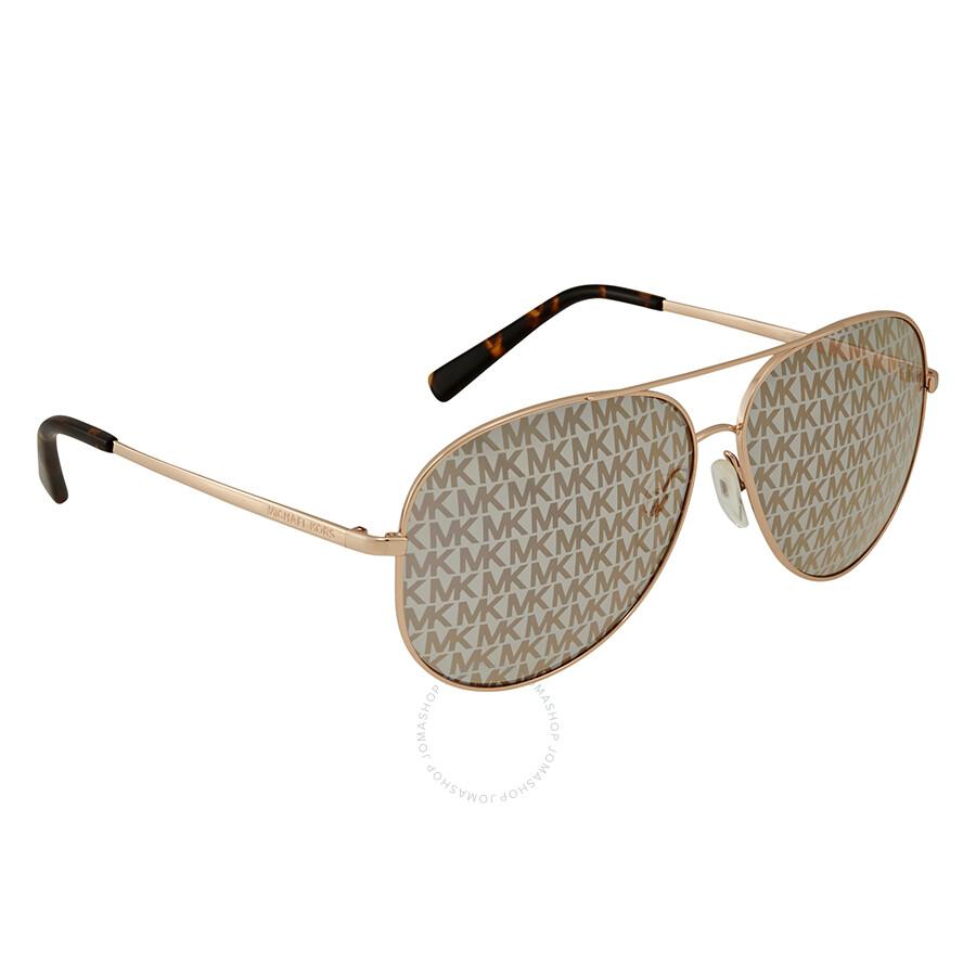 0df979c8e26f3 Michael Kors Kendall Aviator Sunglasses MK5016 1026R0 60 - Michael ...