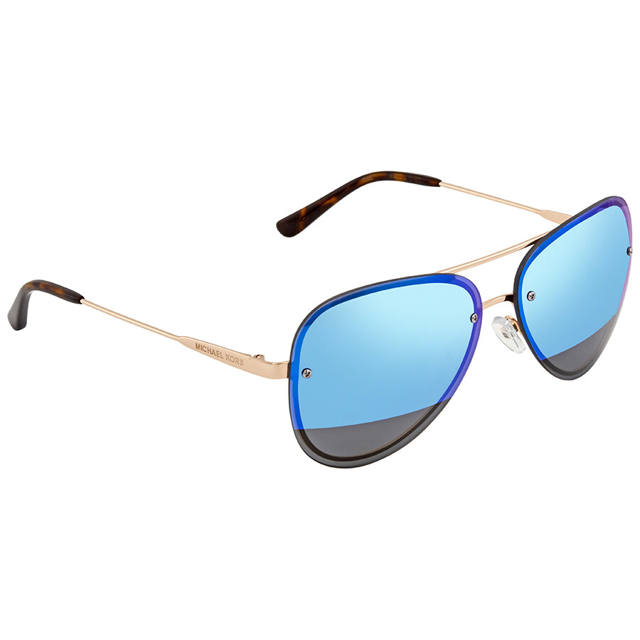 9190401cfbd2 Michael Kors La Jolla Aviator Sunglasses MK1026 1116F3 59 - Michael ...