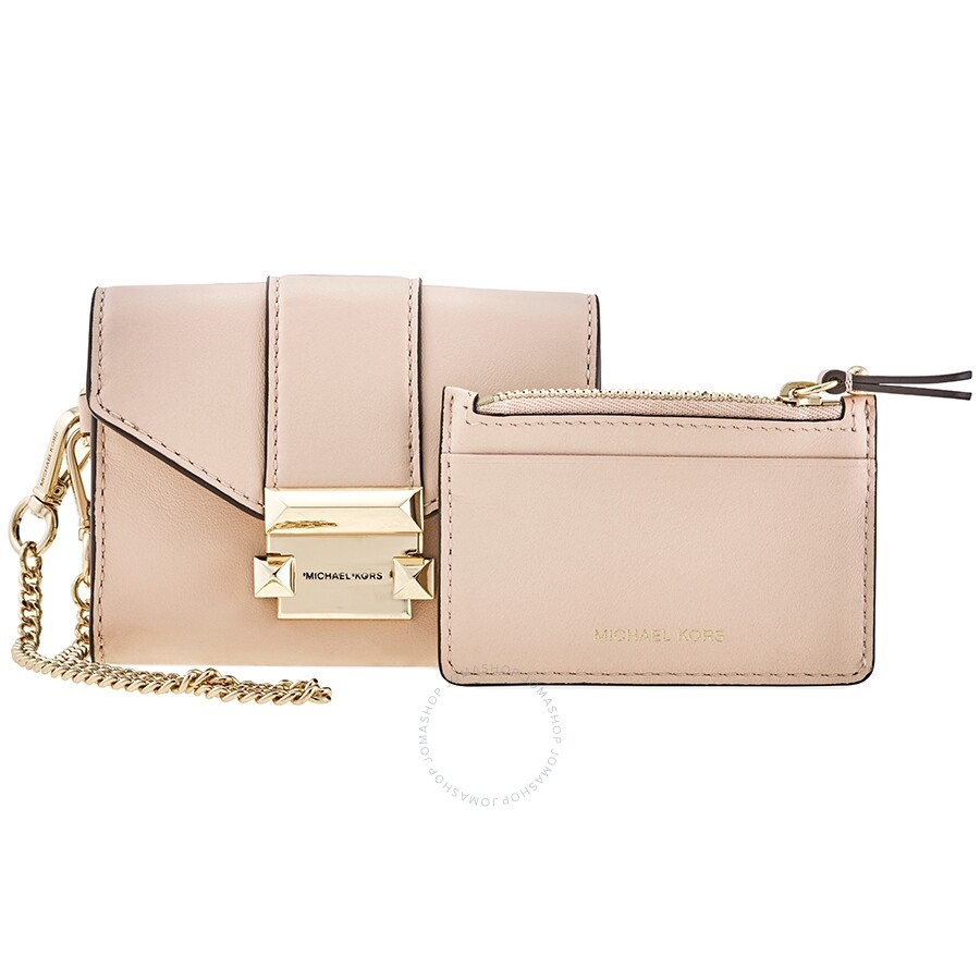 Whitney Small Leather Chain Wallet