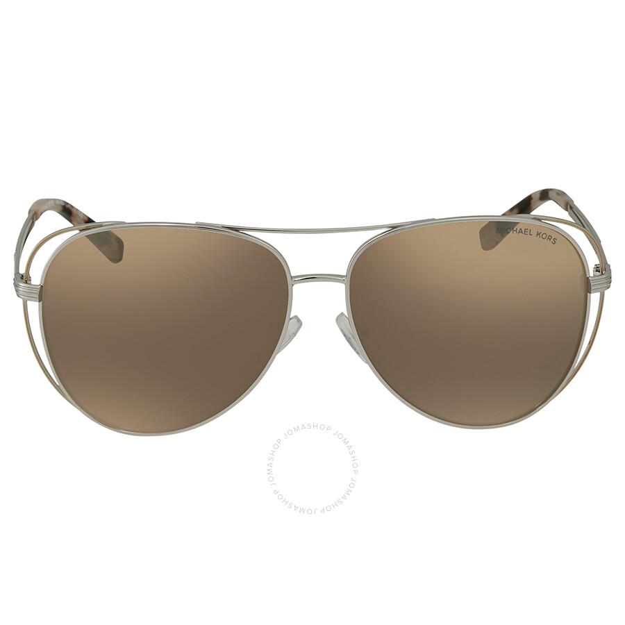 28d471f560 ... Michael Kors Lai Aviator Ladies Sunglasses MK1024 11765A 58 ...