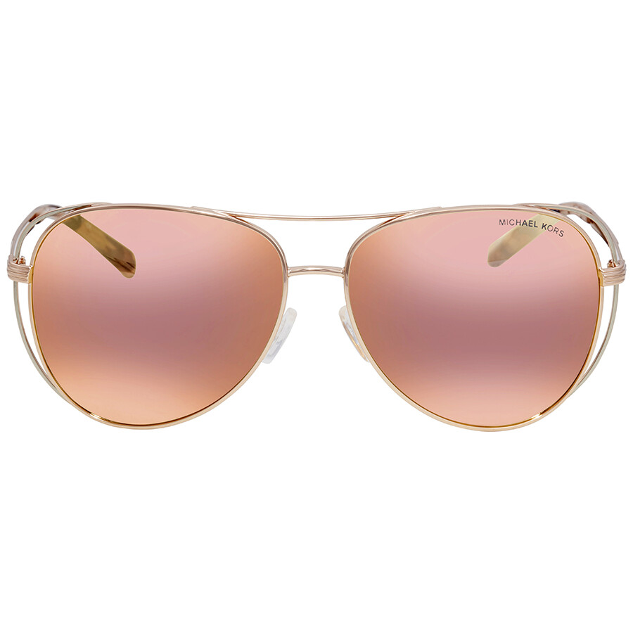 75d98db319 ... Michael Kors Lai Aviator Ladies Sunglasses MK1024 11757J 58 ...