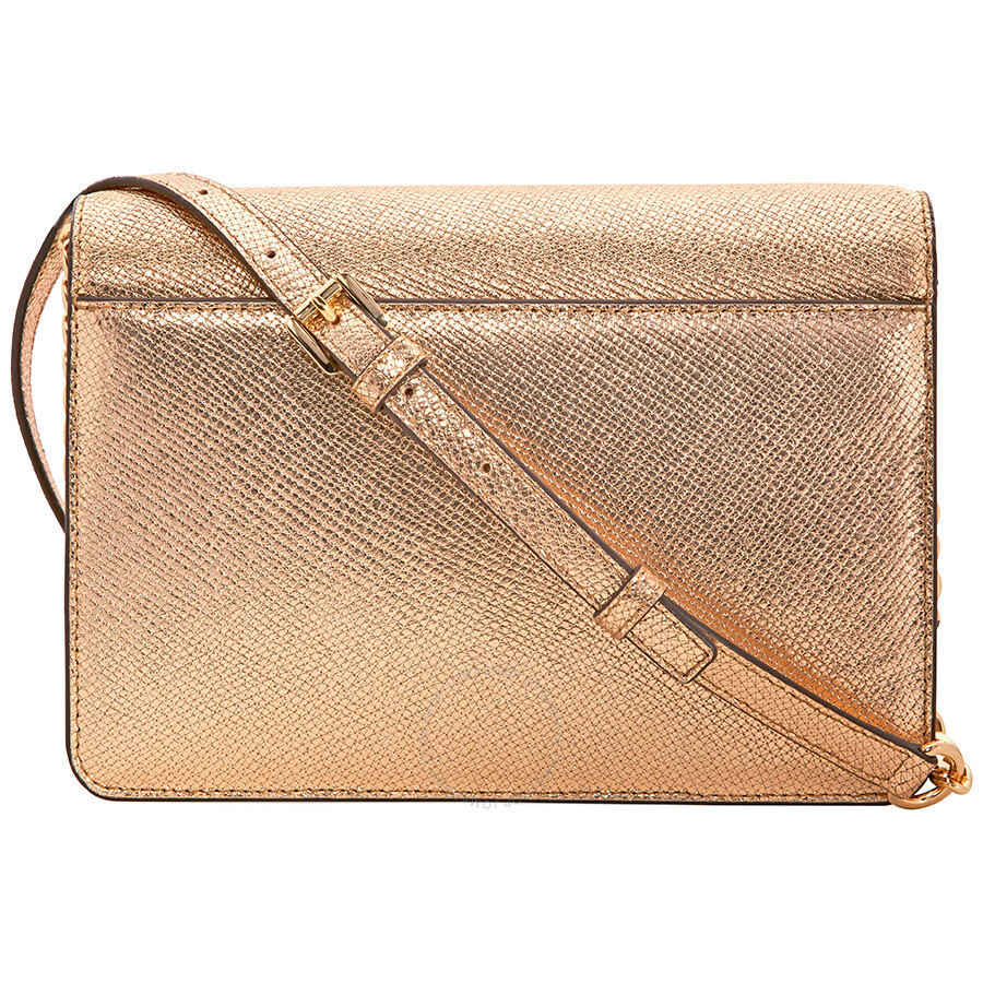 a9baed1872a6 Michael Kors Large Crossbody Bag - Pale Gold - Michael Kors Handbags ...