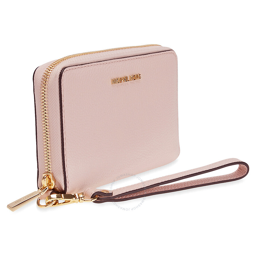 917d465b5323 Michael Kors Large Flat Mercer Wristlet- Soft Pink - Michael Kors ...