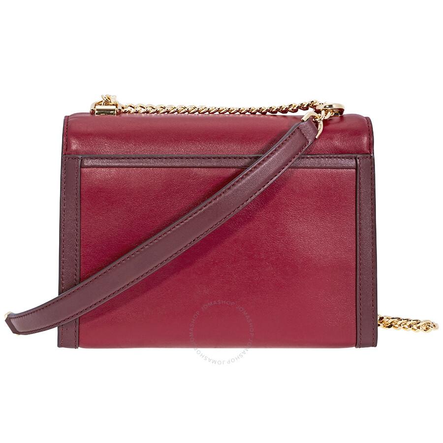 88d3aff638ea Michael Kors Leather Shoulder Bag - Michael Kors Handbags - Handbags ...