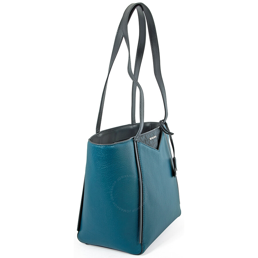 9416c0880363 Michael Kors Whitney Leather Tote- Teal - Michael Kors Handbags ...