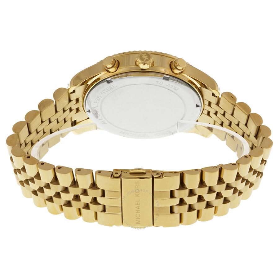 5cb362bfd321 ... Michael Kors Lexington Chronograph Champagne Dial Men s Watch MK8281 ...