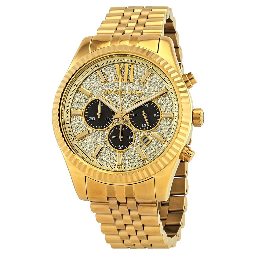 408ffbc6c5ad Michael Kors Lexington Chronograph Men s Watch MK8494 - Lexington ...