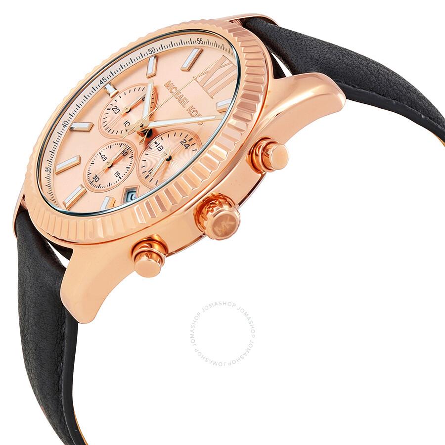 michael kors lexington rose gold tone dial men s chronograph watch michael kors lexington rose gold tone dial men s chronograph watch mk8516