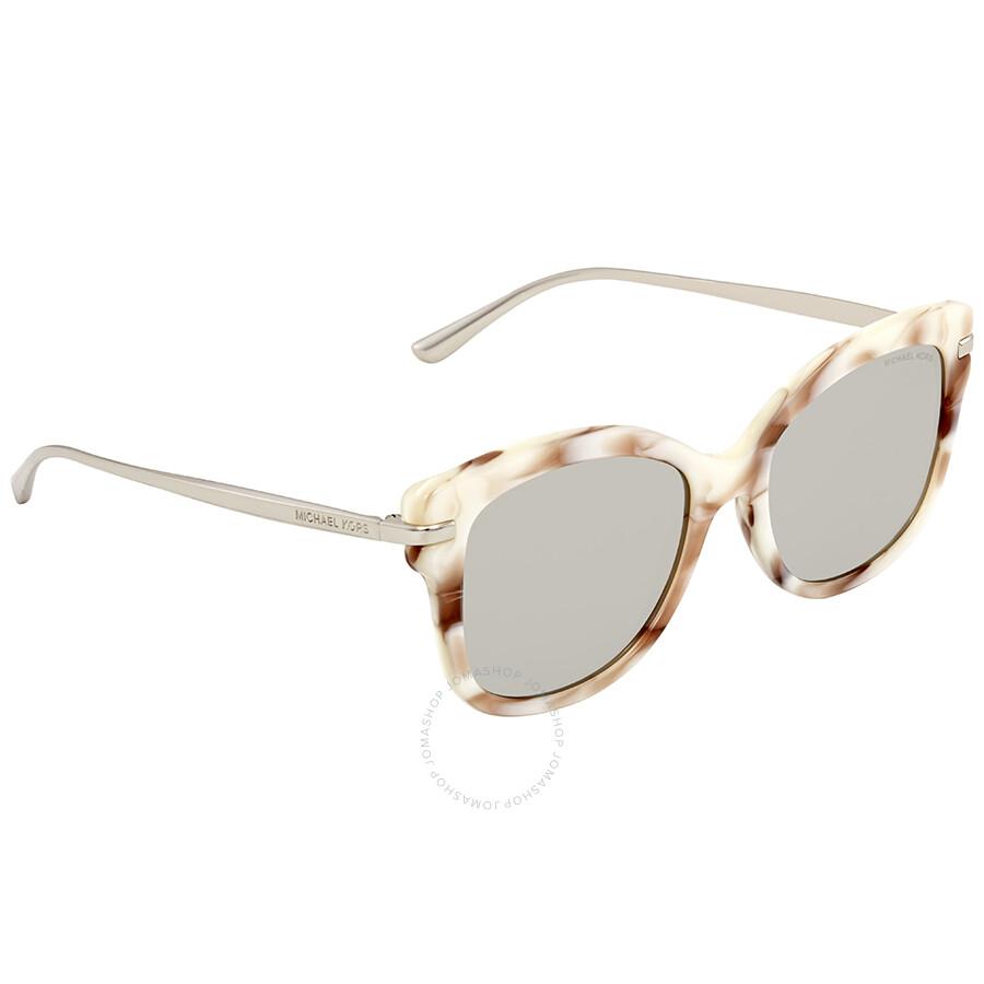220c392c5e Michael Kors Lia Square Ladies Sunglasses MK2047 32486G 53 - Michael ...