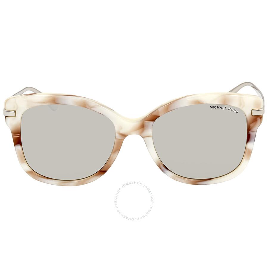 754cdf4417 Michael Kors Lia Square Ladies Sunglasses MK2047 32486G 53 - Michael ...