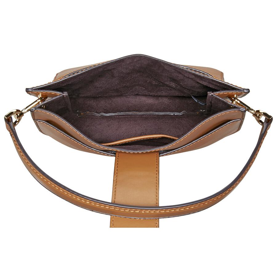 b4eb6feaf9ec Michael Kors Lillie Medium Leather Shoulder Bag- Acorn - Michael ...