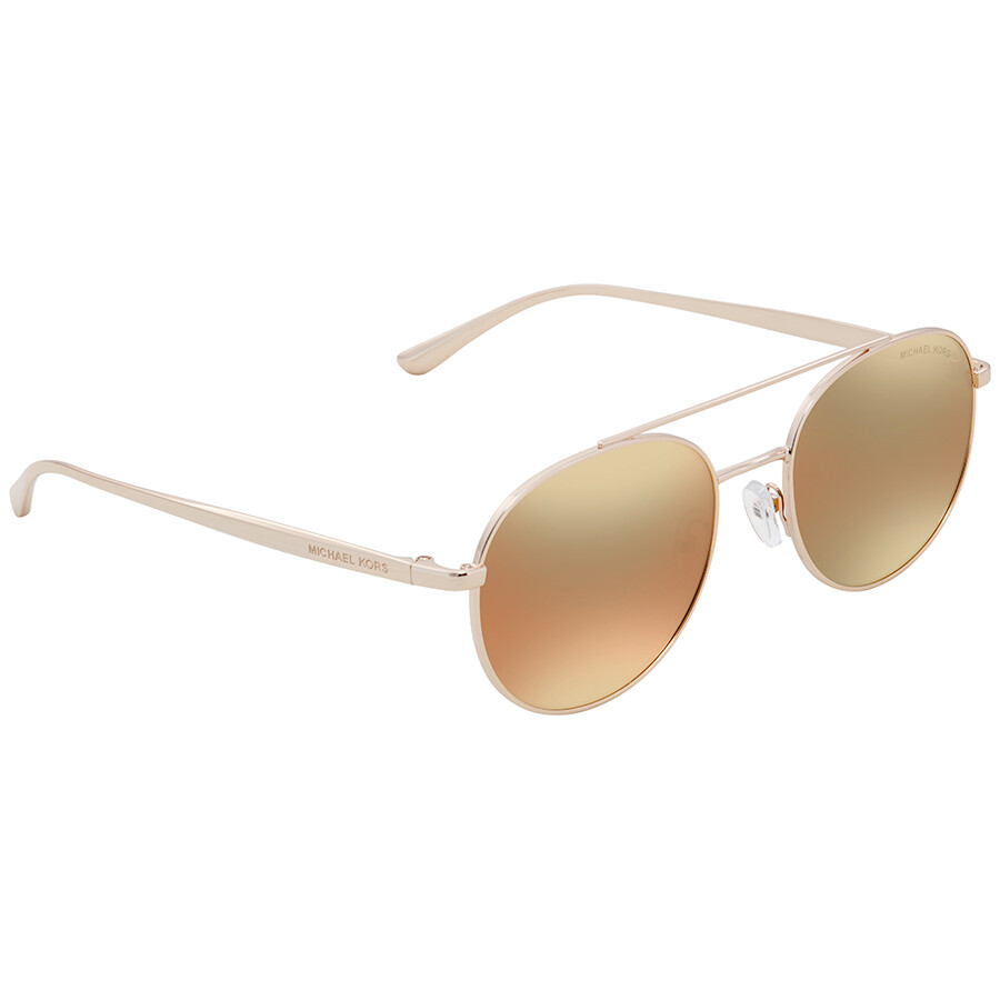 a0056c778f Michael Kors Lon Aviator Ladies Sunglasses MK1021-11167J-53 ...