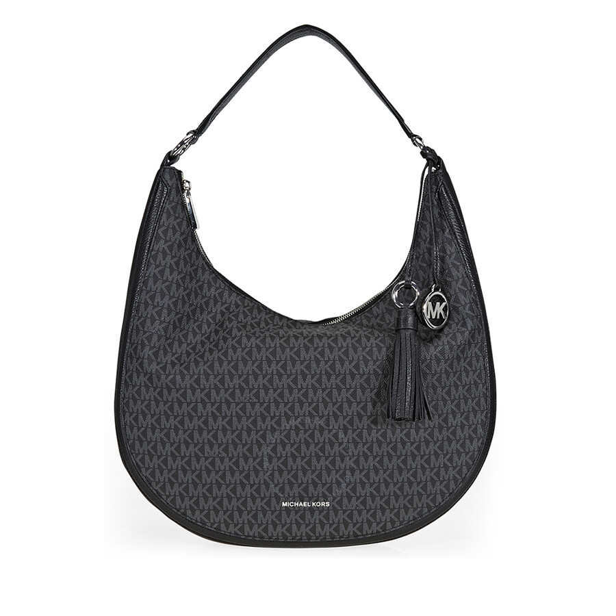 Michael Kors Lydia Large Hobo Bag Black