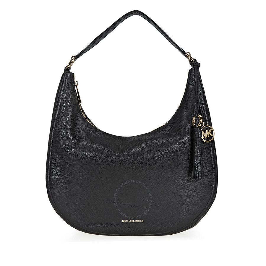 Michael Kors Lydia Large Shoulder Bag Black