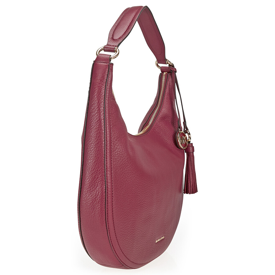 35f282e316b82 Michael Kors Lydia Large Shoulder Bag - Mulberry - Michael Kors ...