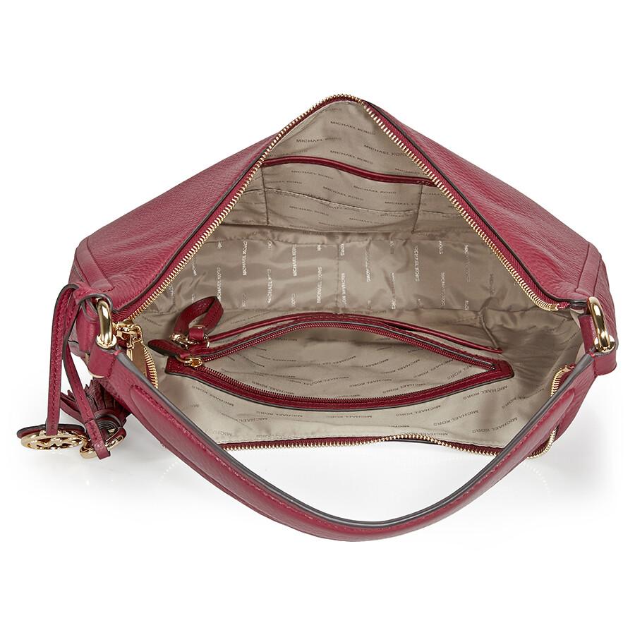 b745f92659925 Michael Kors Lydia Large Shoulder Bag - Mulberry - Michael Kors ...