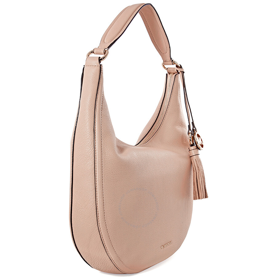 59feda051503 Michael Kors Lydia Large Shoulder Bag - Oyster - Michael Kors ...