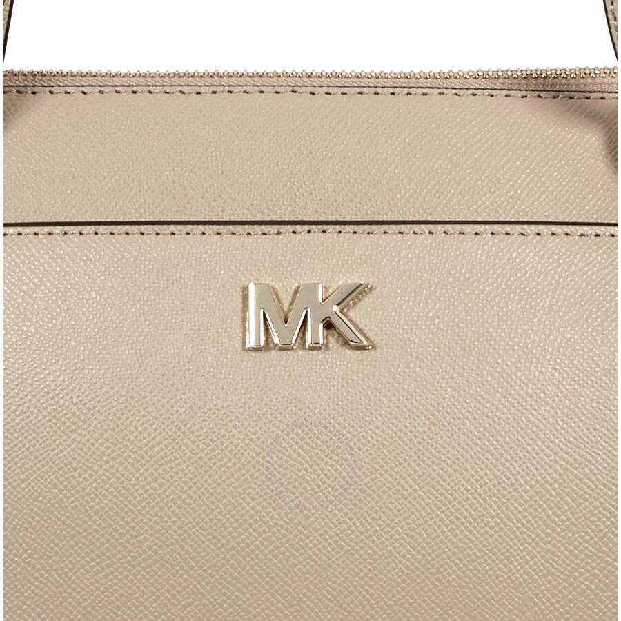 1094869df32d Michael Kors Maddie Medium Crossgrain Leather Tote-Truffle - Michael ...