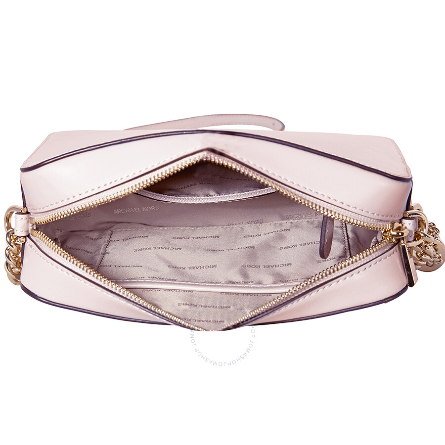 c771c39a3720 Michael Kors Medium Ginny Heart Studded Camera Bag - Soft Pink ...